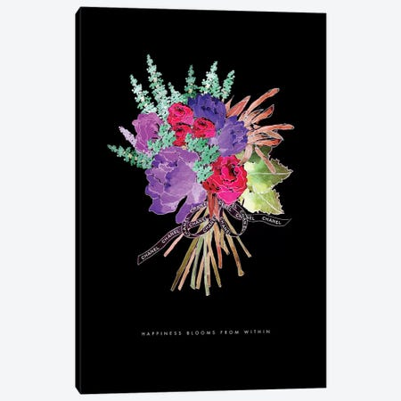 Chanel Bouquet Canvas Print #MLC13} by Mercedes Lopez Charro Canvas Wall Art