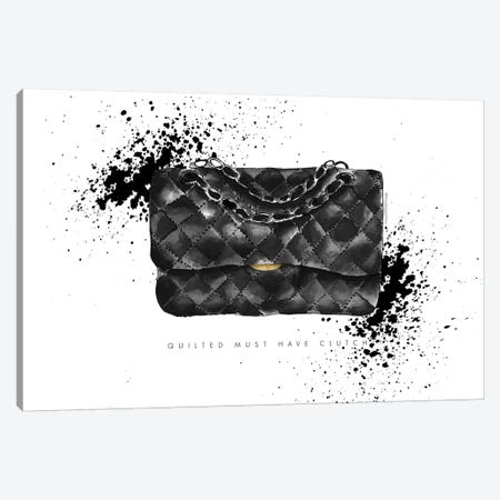Quilted Clutch Canvas Print #MLC149} by Mercedes Lopez Charro Canvas Print