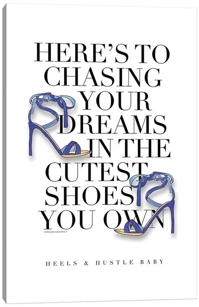 Chase Your Dreams Canvas Art Print
