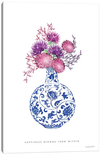 Chinoiserie Style I Canvas Art Print