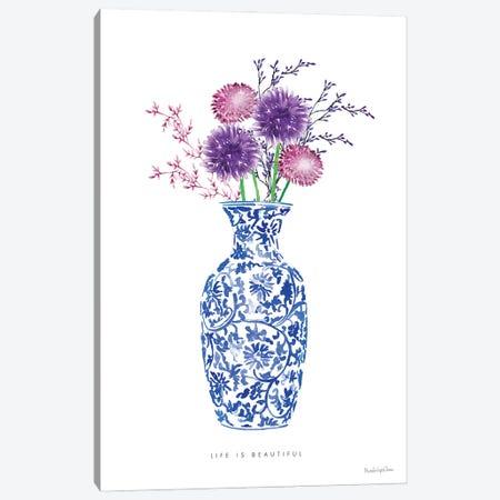 Chinoiserie Style II Canvas Print #MLC156} by Mercedes Lopez Charro Art Print