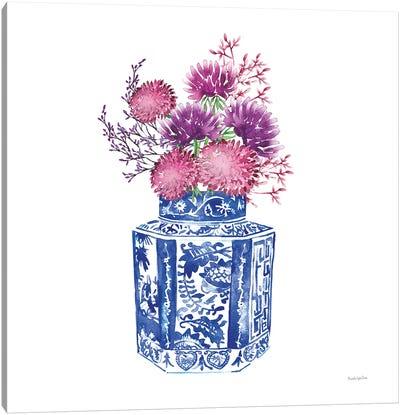Chinoiserie Style III Canvas Art Print