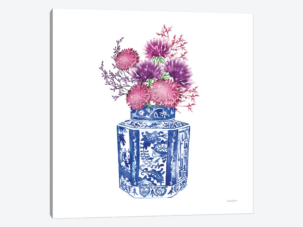 Chinoiserie Style III by Mercedes Lopez Charro 1-piece Art Print