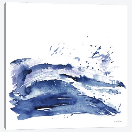 Coastal Splash I Canvas Print #MLC159} by Mercedes Lopez Charro Canvas Artwork