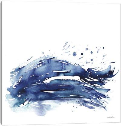 Coastal Splash III Canvas Art Print
