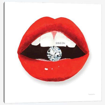Hot Lips II Canvas Print #MLC170} by Mercedes Lopez Charro Canvas Art