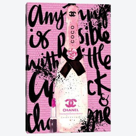 Coco Rosé Canvas Print #MLC17} by Mercedes Lopez Charro Art Print