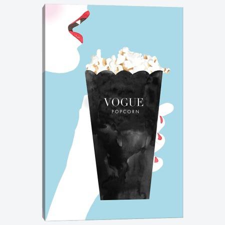 Vogue Popcorn Canvas Print #MLC202} by Mercedes Lopez Charro Canvas Artwork