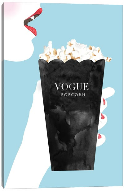 Vogue Popcorn Canvas Art Print