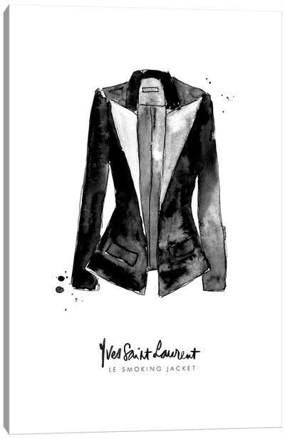 Smoking Jacket Canvas Art Print