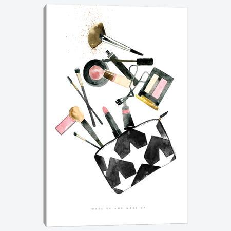 Wake Up & Make Up Canvas Print #MLC204} by Mercedes Lopez Charro Canvas Print