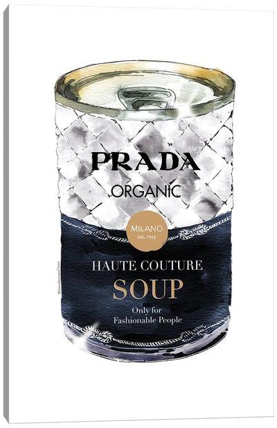 Prada Soup Can Canvas Art Print