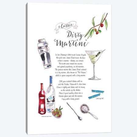 Dirty Martini Canvas Print #MLC20} by Mercedes Lopez Charro Canvas Art Print