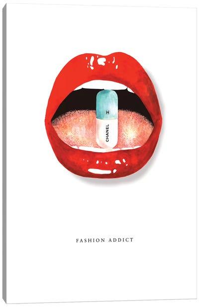 Fashion Addict Canvas Art Print