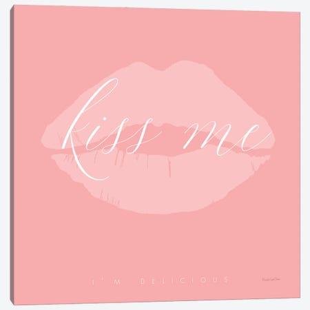 Kiss Me Canvas Print #MLC243} by Mercedes Lopez Charro Canvas Art