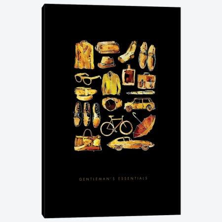 Gentlemans Essentials Canvas Print #MLC24} by Mercedes Lopez Charro Canvas Artwork