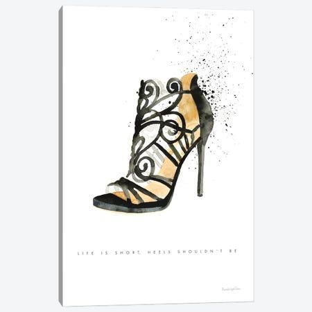 Stiletto Style II Canvas Print #MLC260} by Mercedes Lopez Charro Canvas Artwork