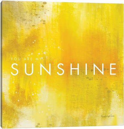 Sunshine Canvas Art Print