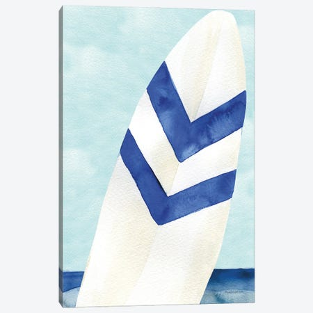Surf and Sun II Canvas Print #MLC265} by Mercedes Lopez Charro Canvas Print