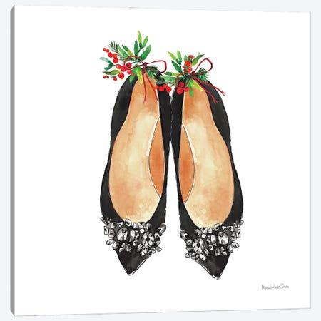 Christmas Shoes I Canvas Print #MLC275} by Mercedes Lopez Charro Canvas Wall Art
