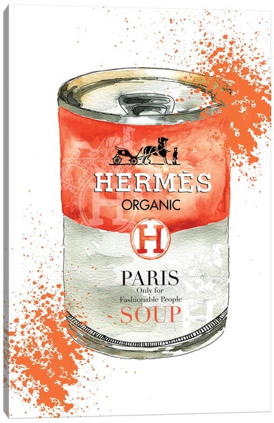 Hermes Soup Canvas Art Print