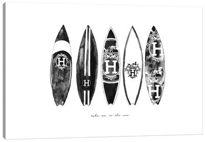 Hermes Surf Canvas Art Print