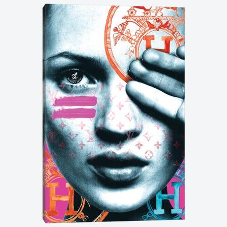 Kate Runway Rebel Canvas Print #MLC33} by Mercedes Lopez Charro Canvas Wall Art