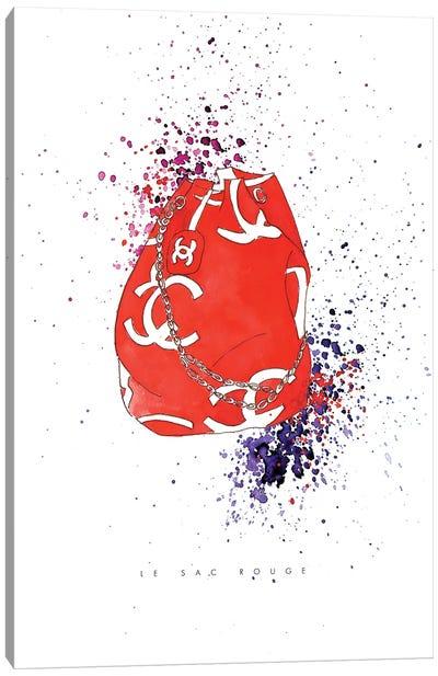Le Sac Rouge Canvas Art Print