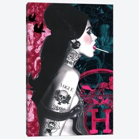 Lollypop Girl Canvas Print #MLC40} by Mercedes Lopez Charro Canvas Print