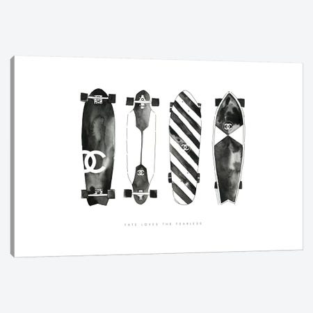 Skate Canvas Print #MLC54} by Mercedes Lopez Charro Canvas Print