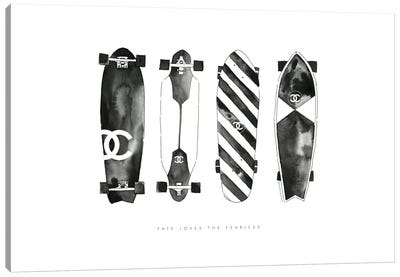 Skate Canvas Art Print