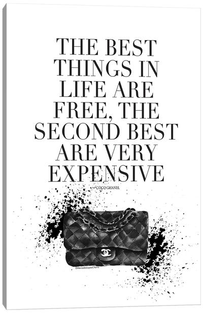 The Best Things Coco Canvas Art Print