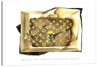 Louis Vuitton Bag Canvas Art Print