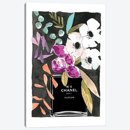 Anemones Chanel Canvas Print #MLC6} by Mercedes Lopez Charro Canvas Art