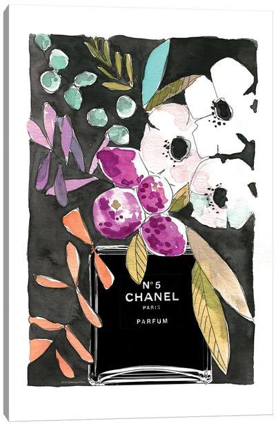 Anemones Chanel Canvas Art Print