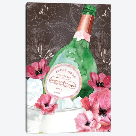 Lauren Perrier Florals Canvas Print #MLC83} by Mercedes Lopez Charro Canvas Print