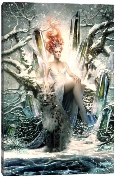Crystal Canvas Art Print