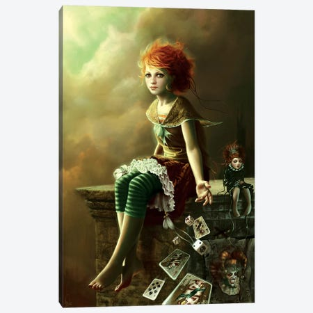 Do You Want To Play With Me Canvas Print #MLD16} by Melanie Delon Canvas Wall Art