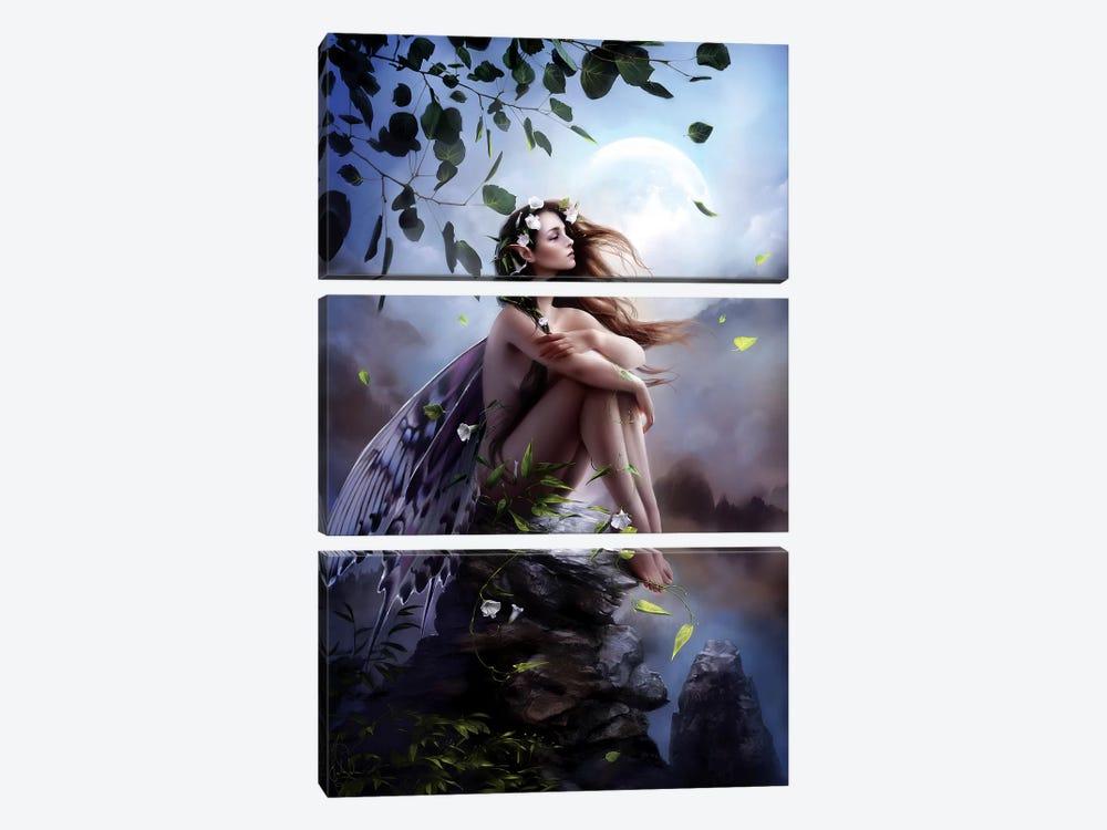 Isra by Melanie Delon 3-piece Canvas Art Print