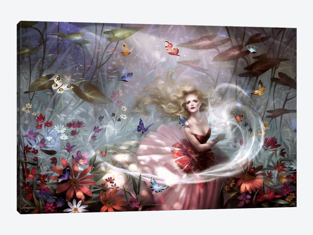 Make A Wish 1-piece Canvas Art Print