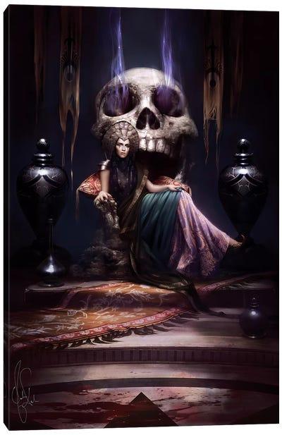 Throne Canvas Art Print