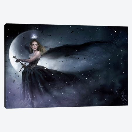 To The Stars Who Listen Canvas Print #MLD42} by Melanie Delon Canvas Wall Art