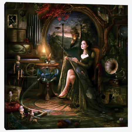 Trapped Canvas Print #MLD44} by Melanie Delon Canvas Print