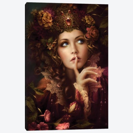 Whispers Canvas Print #MLD48} by Melanie Delon Canvas Art