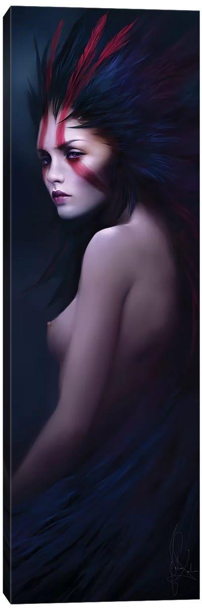 Black Swan Canvas Art Print
