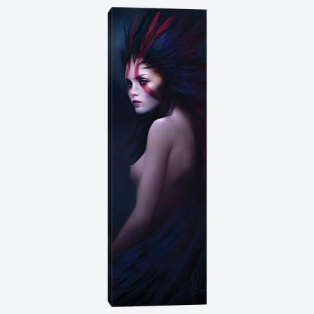 Black Swan Canvas Print #MLD7} by Melanie Delon Canvas Art Print