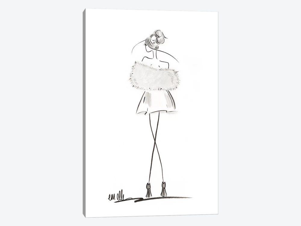 Glamour by Em Elle 1-piece Canvas Artwork