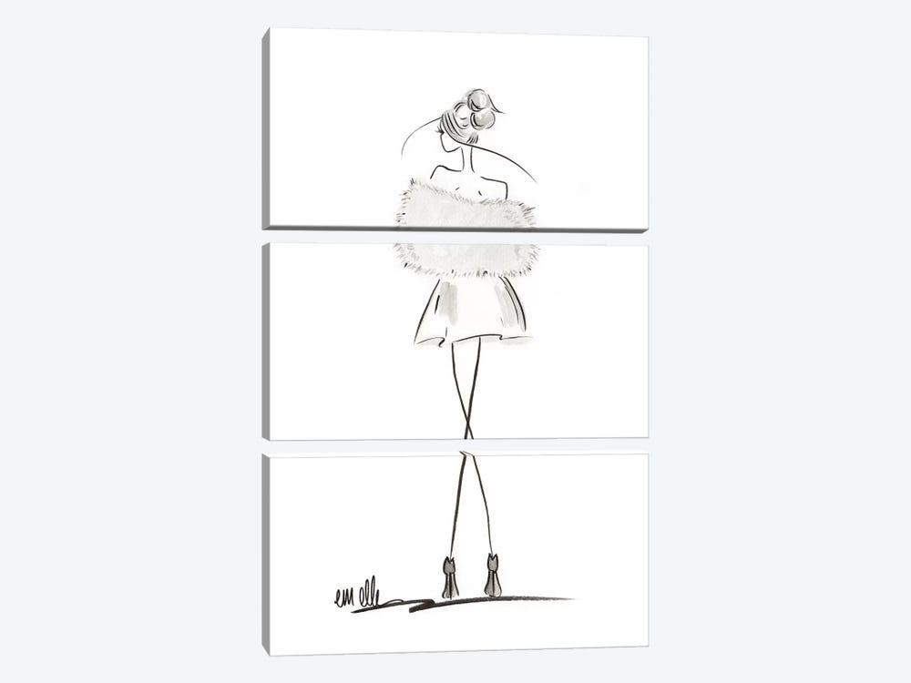 Glamour by Em Elle 3-piece Canvas Artwork