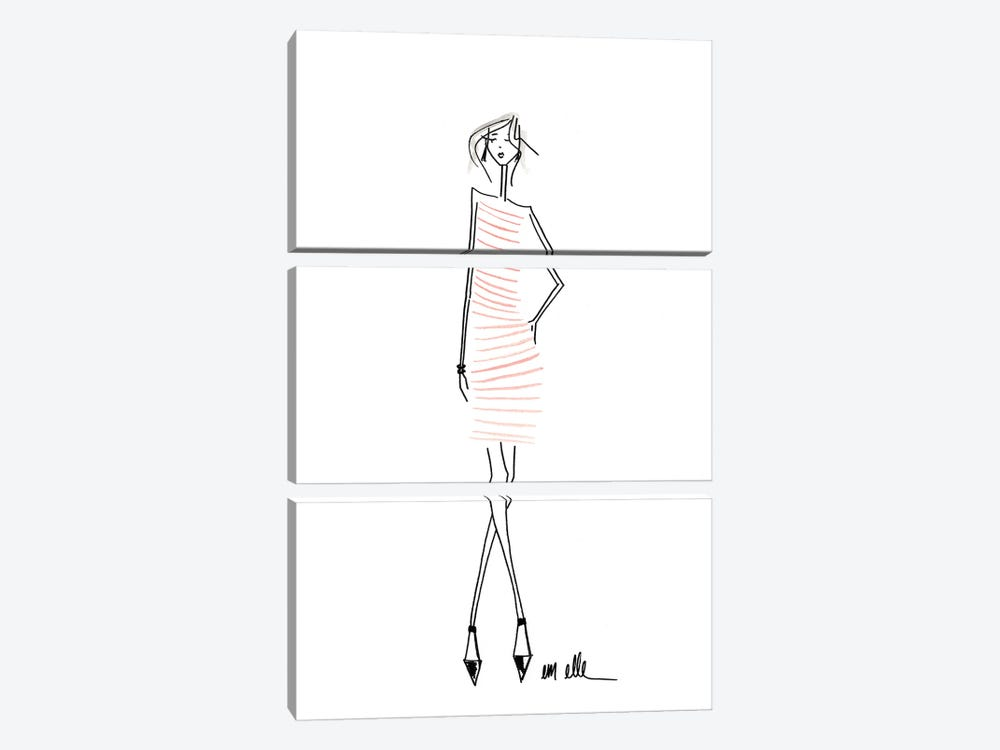 I'll Take It by Em Elle 3-piece Art Print