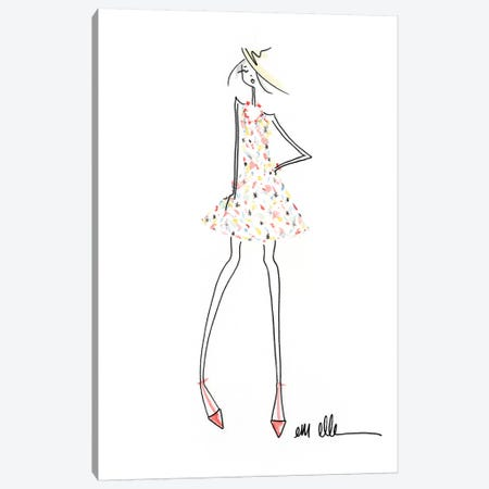 Inspired Canvas Print #MLE15} by Em Elle Canvas Art Print